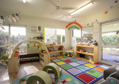 Bright and colourful spaces in Aitkenvale Centre