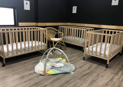 Cribs for the bubs in Idalia